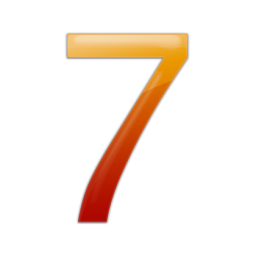 Number 7 Icon Pictures image #24863