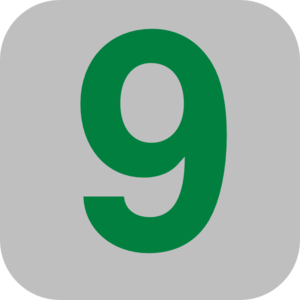Number 9 Svg Icon