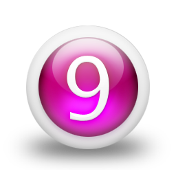 Free Png Download Vector Number 9