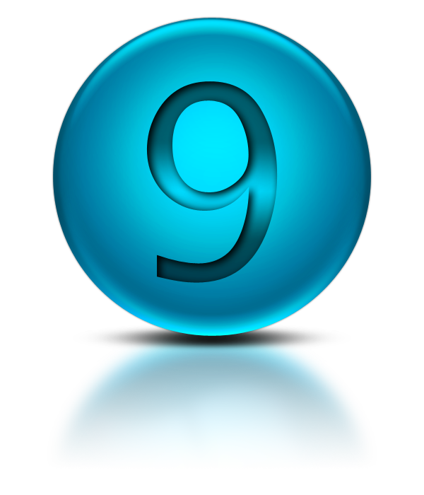 Number 9 Png Download Free Vector
