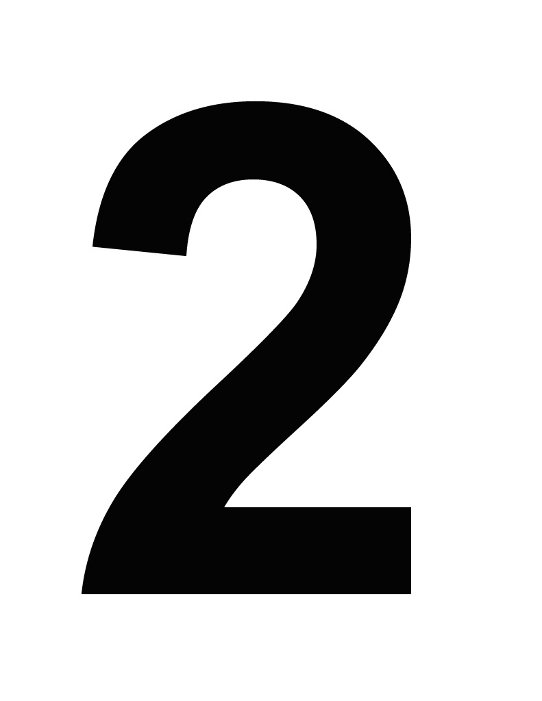 Number 2 Two Png Simple image #11910