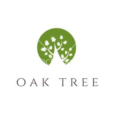 Icon Transparent Oak Tree image #16490