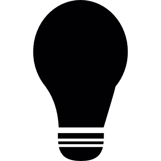 off lamp, bulb off icon