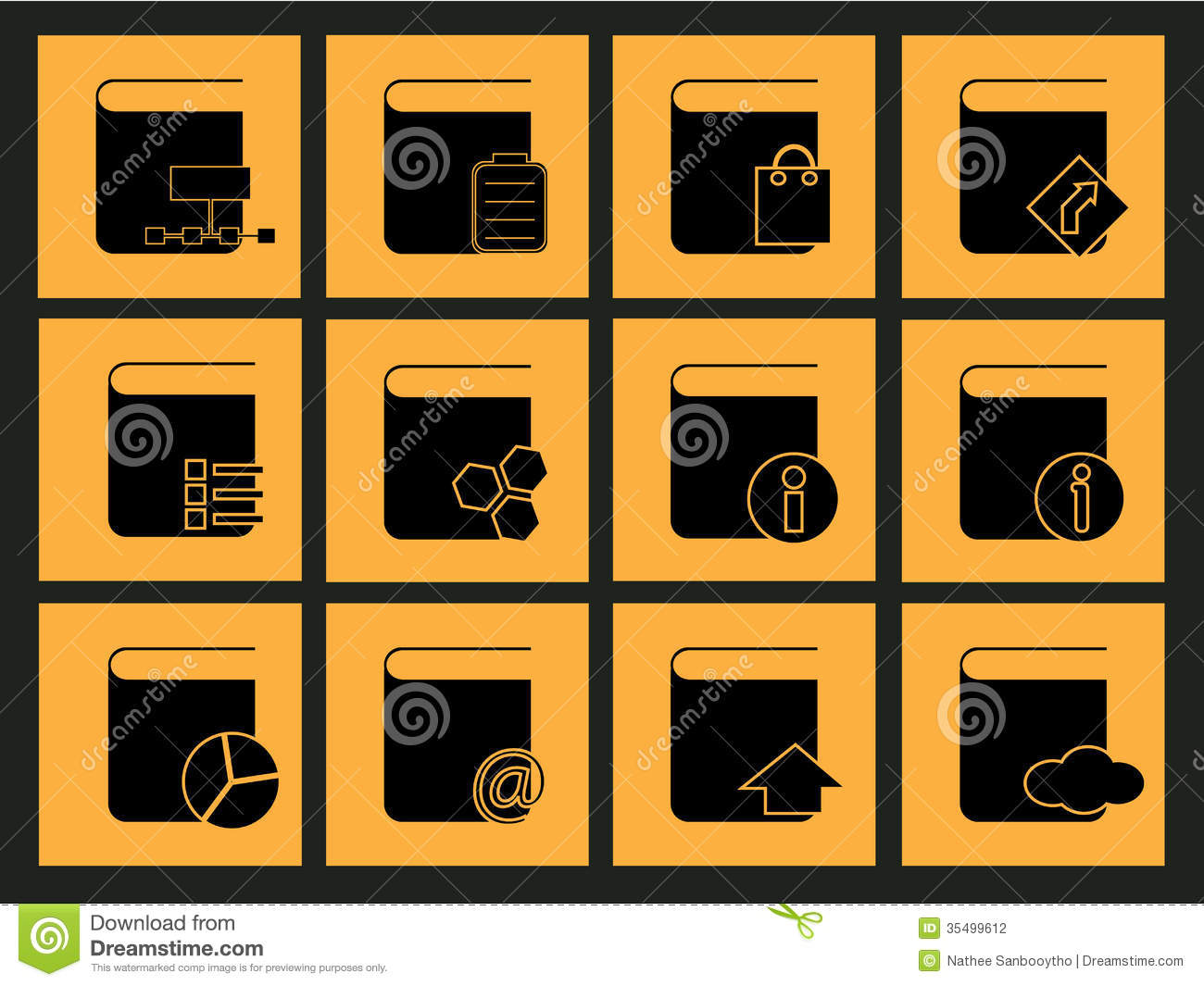 Office Icon Stock Photography Image: 35499612