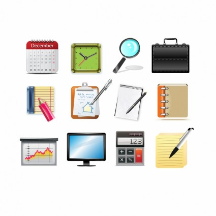 Office Icons Vector Icon   Free Vector For Free Download image #1779