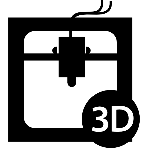 Office Stuff 3d Printer Icon Png image #13046