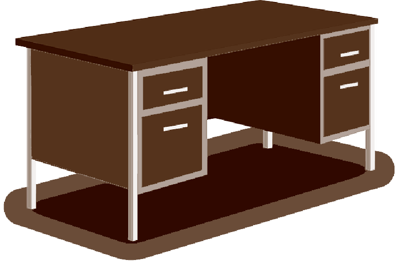 High Resolution Office Table Png Clipart