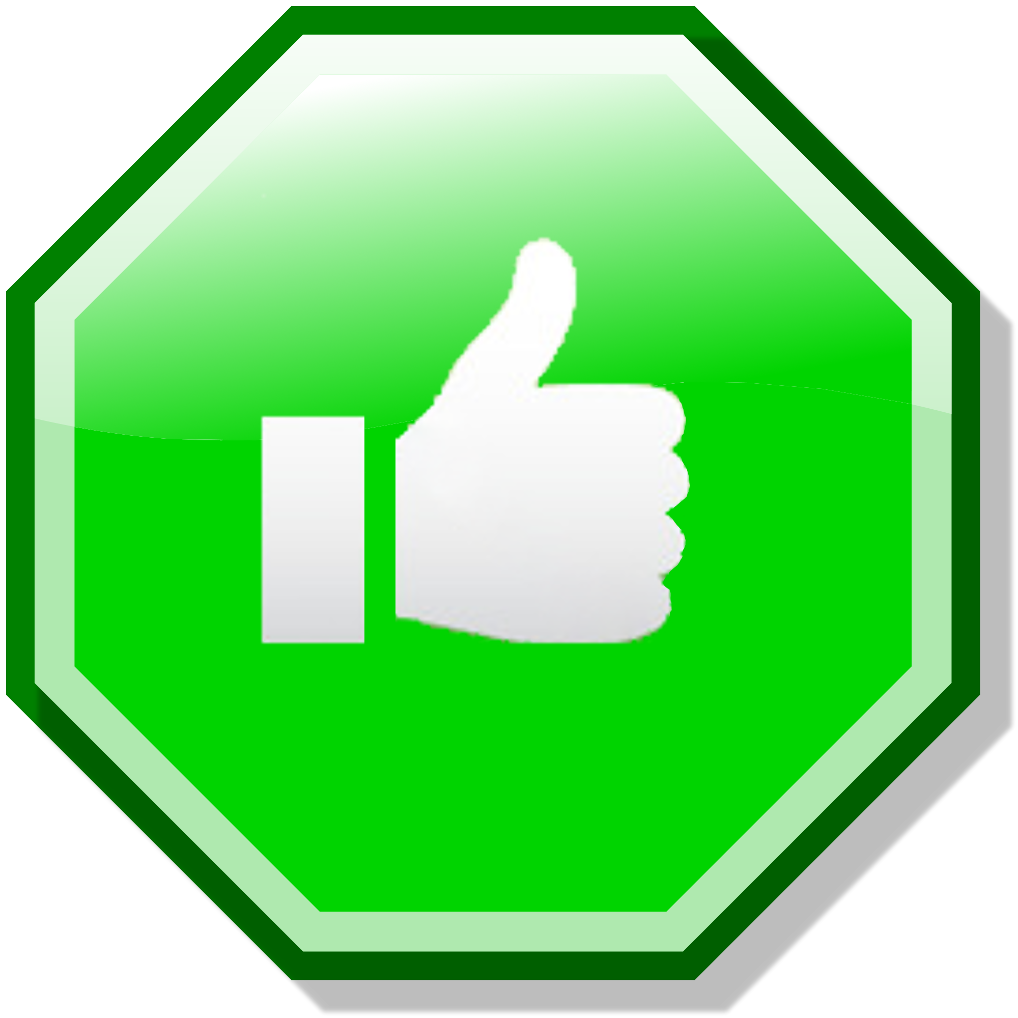 Ok Green Png image #3118