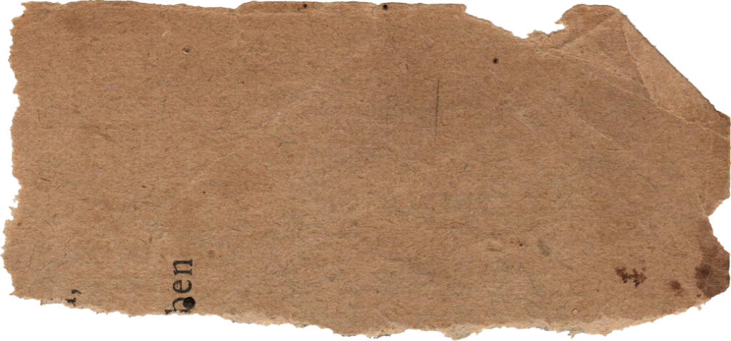 Old Brown Cardboard, Ripped Paper PNG Images image #48366
