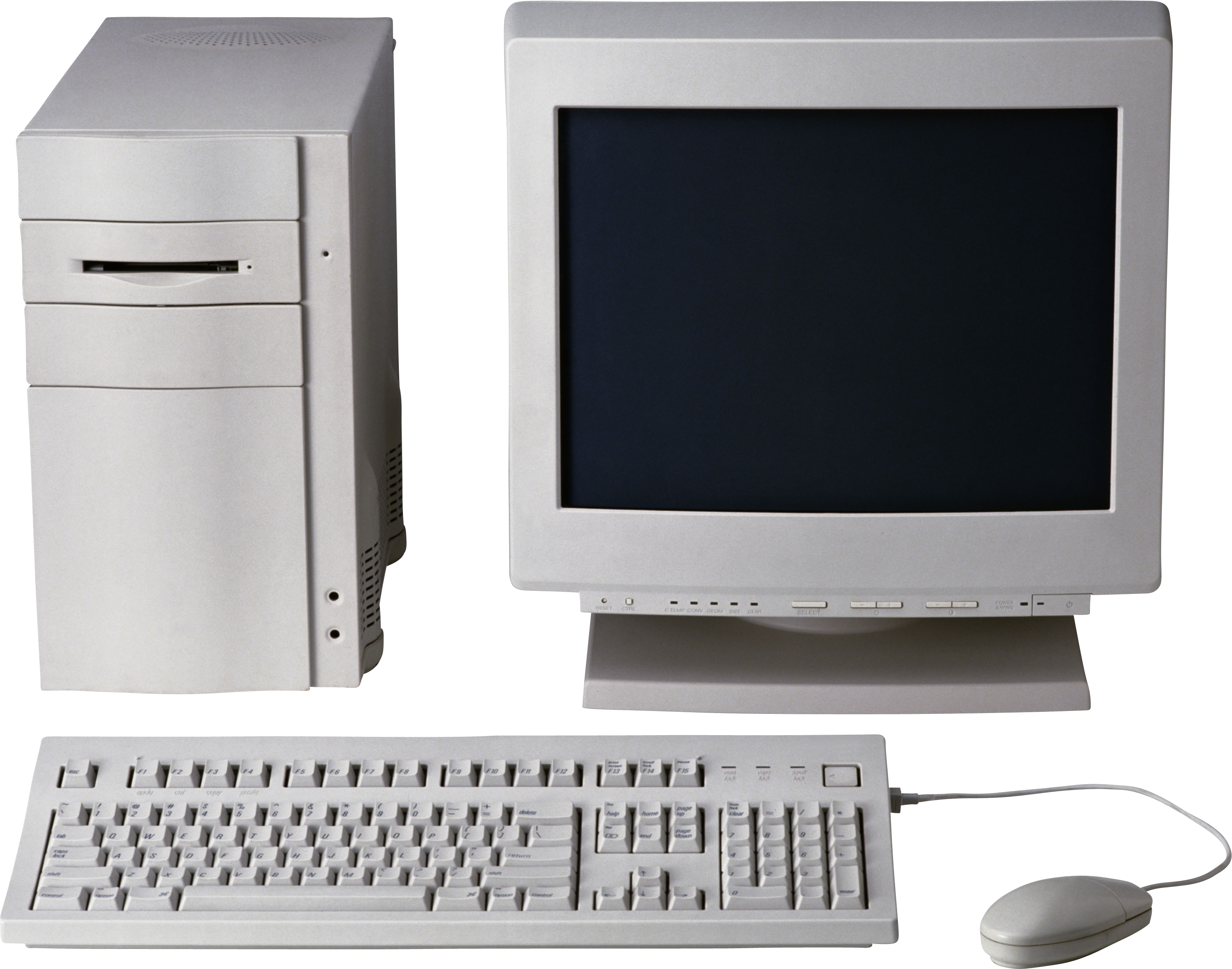 Old Computer PC PNG