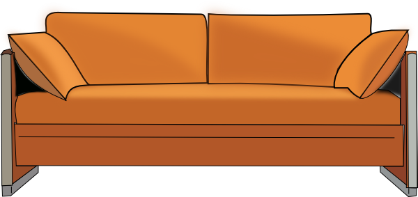 PNG Download Free Old Couch image #37474