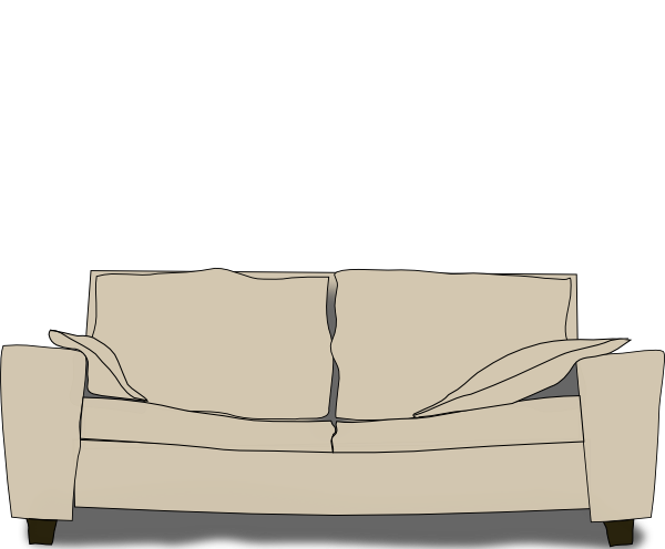 File Old Couch PNG image #37485