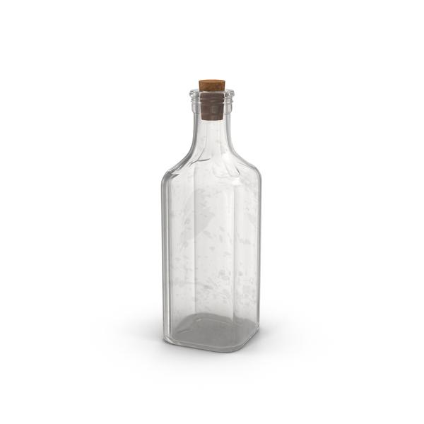 old medicine glass bottle