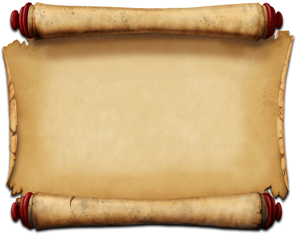 Old Paper Scroll Png image #26394
