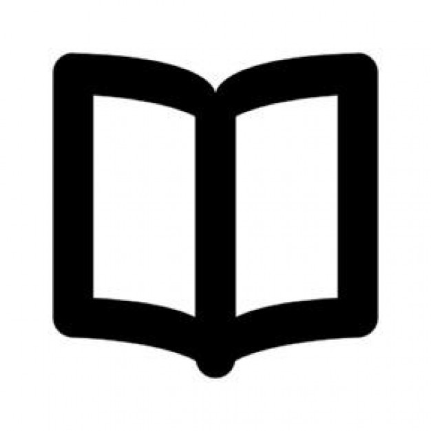 Free Open Book Icon image #16364
