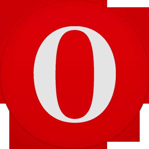 Opera Icon Size