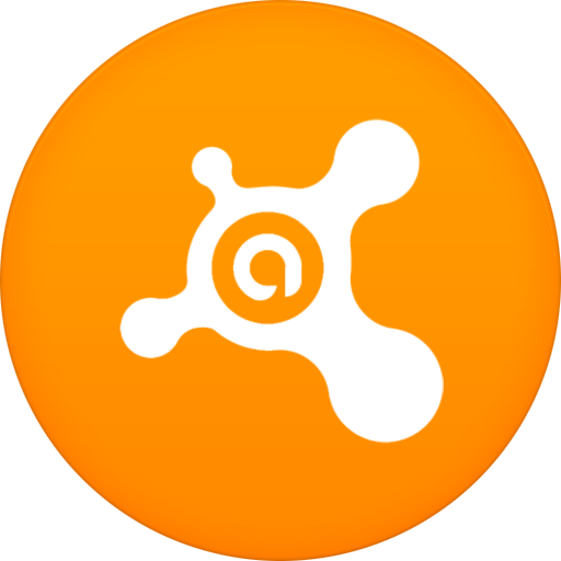 Orange Avast Icon image #24100