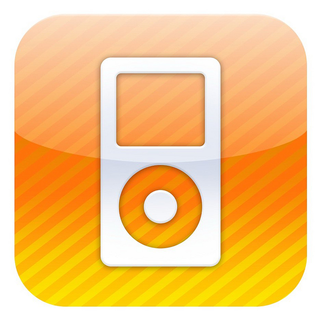 Orange Ipod Icon image #28936