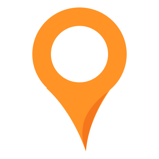 Orange Location Icon Png image #4239