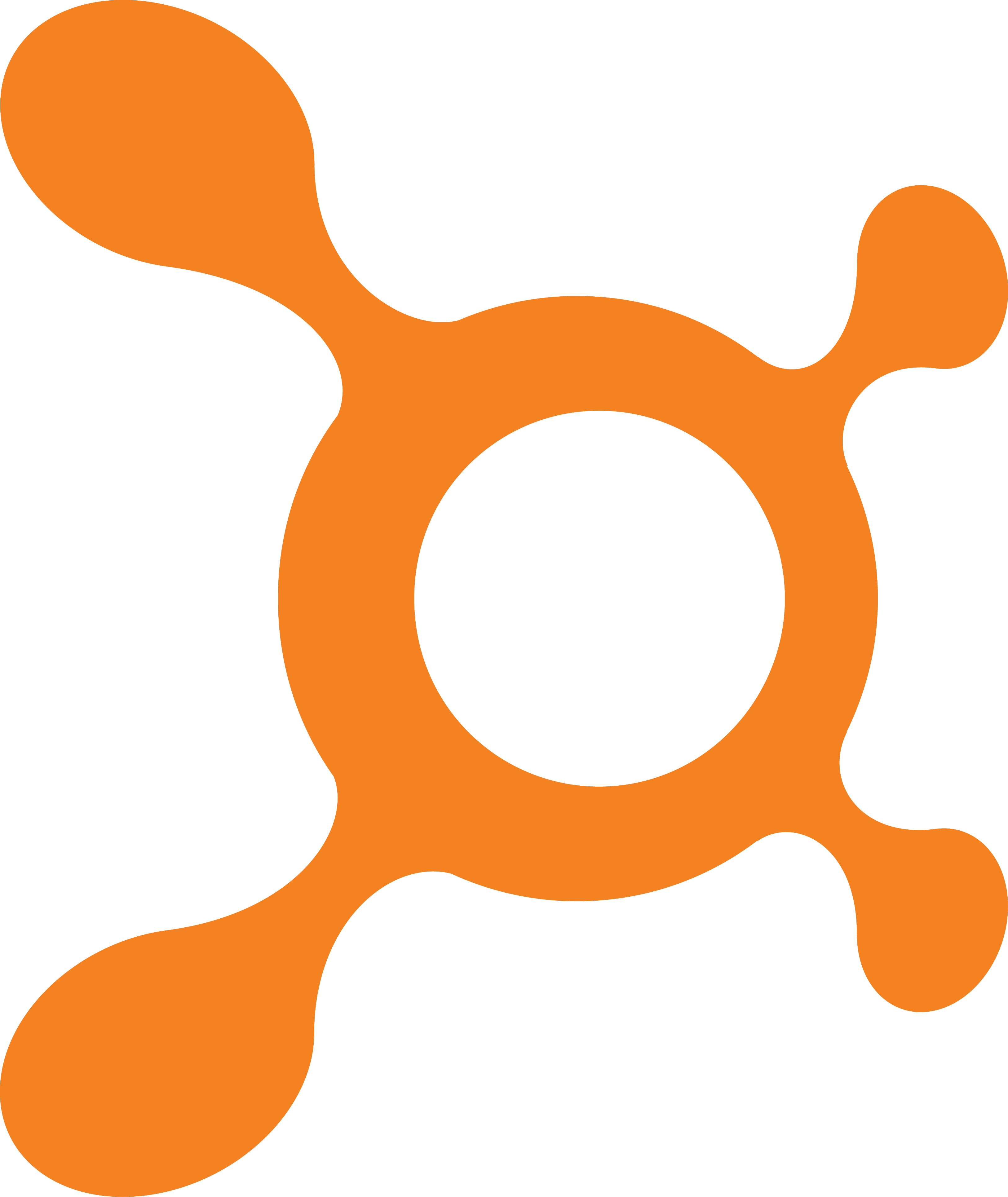 Orange Logo Splat Png image #38299