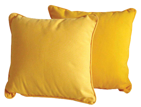Orange Pillow Png image #28462
