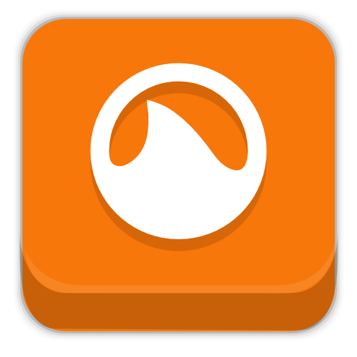 Orange Shark Icon image #24344