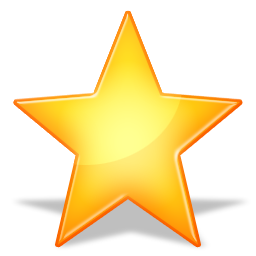 Orange Star Icon image #19120