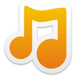 Orangemusic Note Icon Png Transparent Background Free Download Freeiconspng