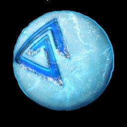 Orbz ice Icon   Orbz Iconset   Arrioch
