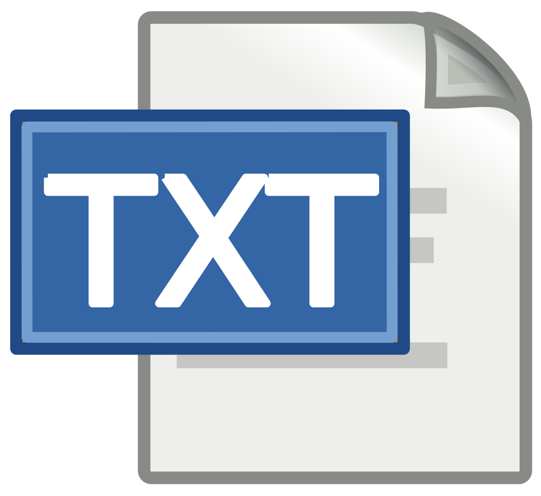 Txt File Icons - PNG & Vector - Free Icons and PNG Backgrounds