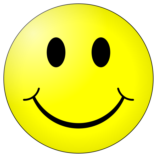 Original Smiley Face Png image #42668