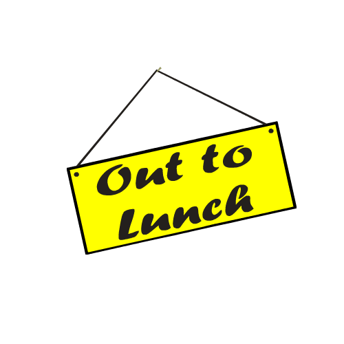 Out To Lunch Png 500x500, Lunch HD PNG Download