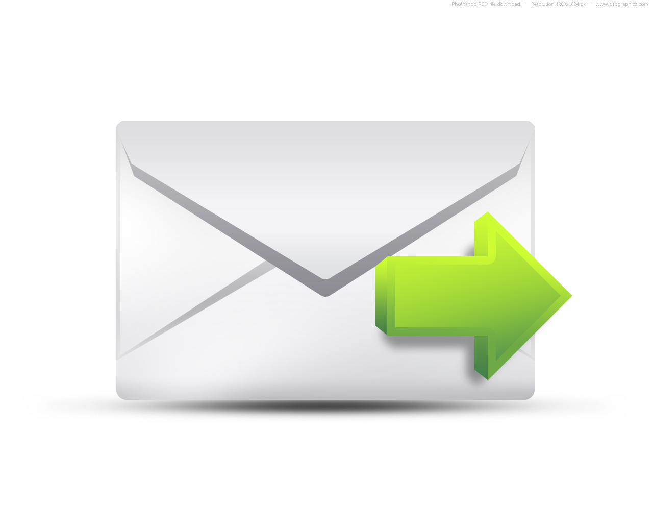Outgoing email icon