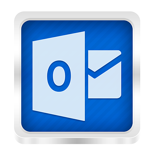 Outlook Icon   Boxed Metal Icons   SoftIconsm image #2174