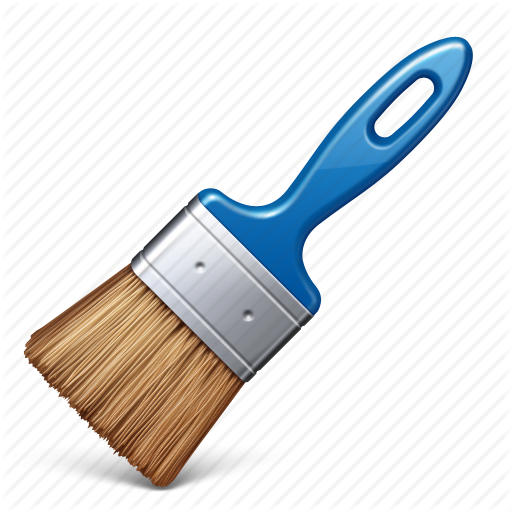 Icon Paint Brush Download image #9035