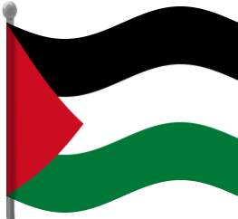 Png Download Clipart Palestine Flag 263x242, Palestine Flag HD PNG Download