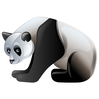 Panda Simple Png image #26890