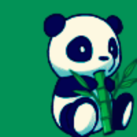 Vector Drawing Panda image #26894