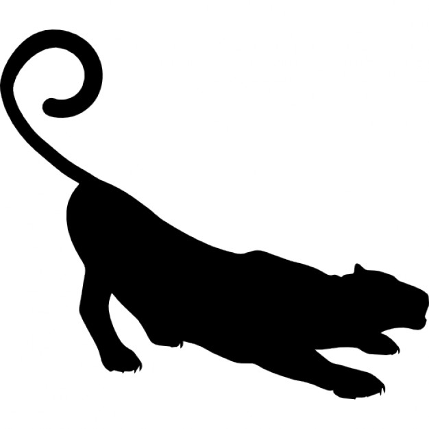 Panther Svg Icon image #10621