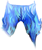 Pants Blue Fire Fashioned image #2448