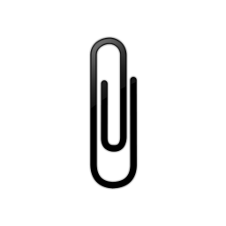 Paperclip Icon Png Transparent Background Free Download Freeiconspng