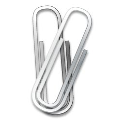 Icon Drawing Paper Clip image #13287
