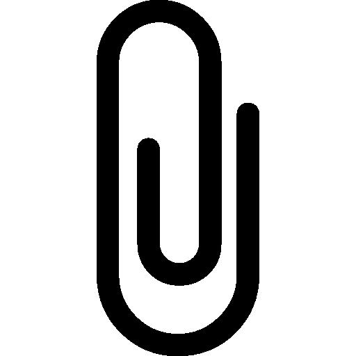 Paperclip icon vector stock photos