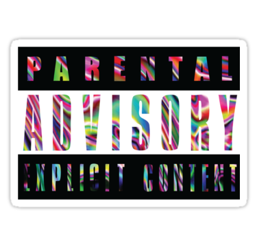 Parental Advisory Explicit Content Png image #43547