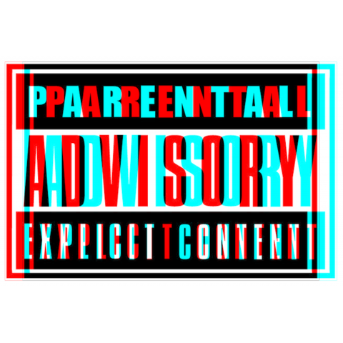 Parental Advisory HD Png image #43546