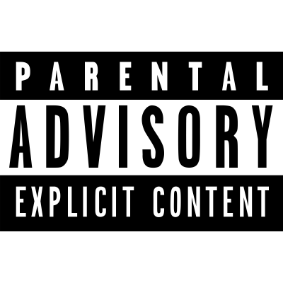Parental Advisory transparent PNG