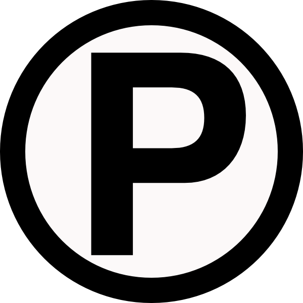 Parking Svg Free image #10874