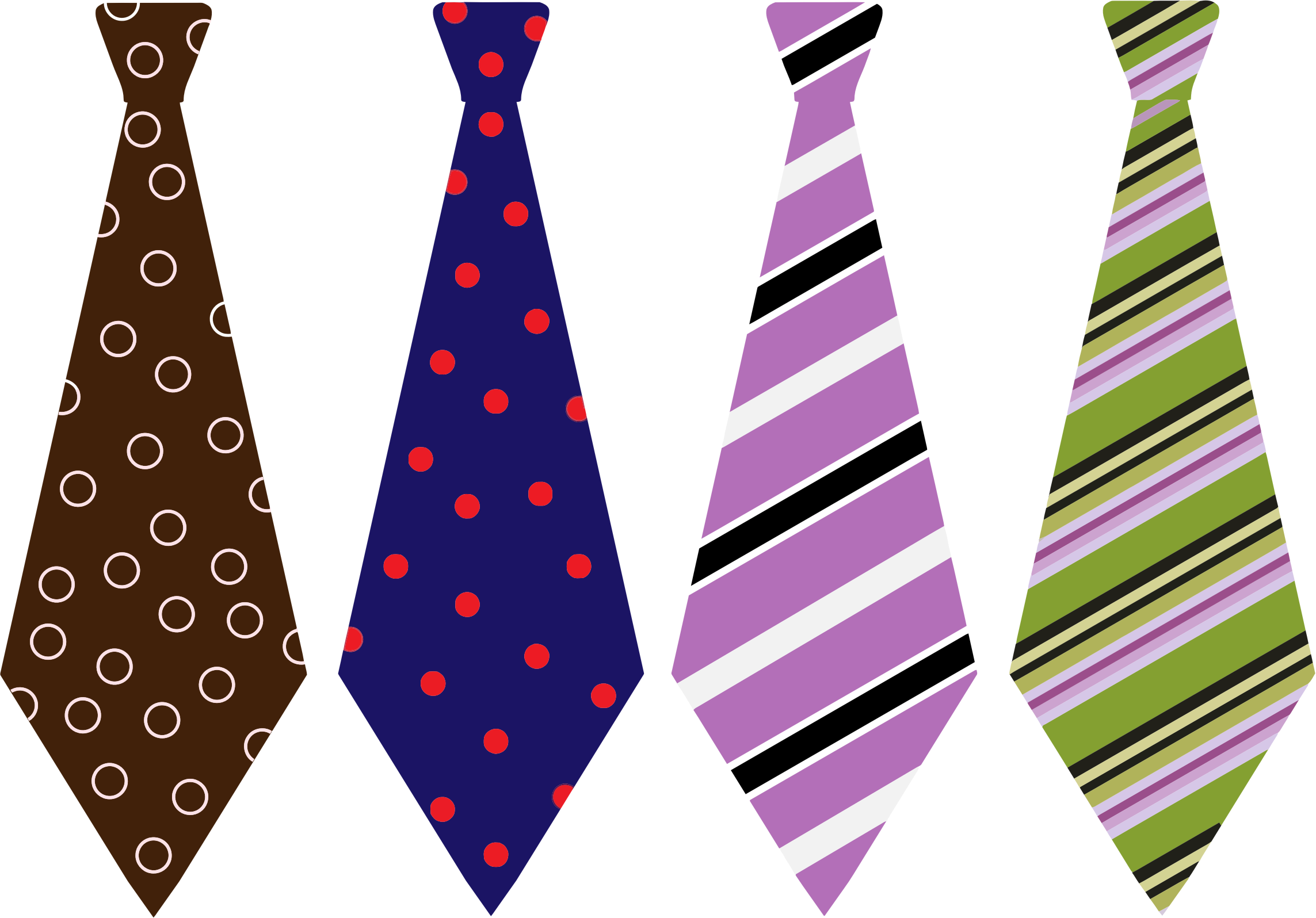 Patterned Mens Ties Png image #42567