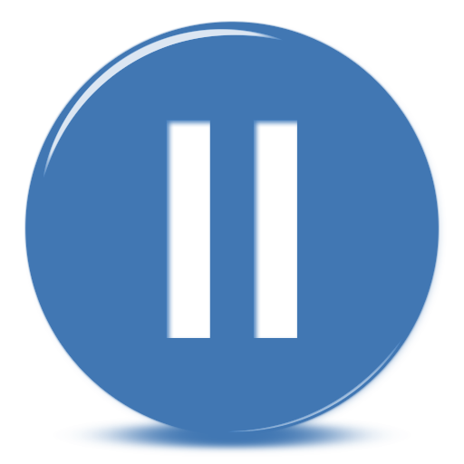 Pause Button Png Available In Different Size image #29662
