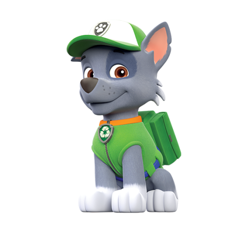 paw patrol, Rocky PNG png
